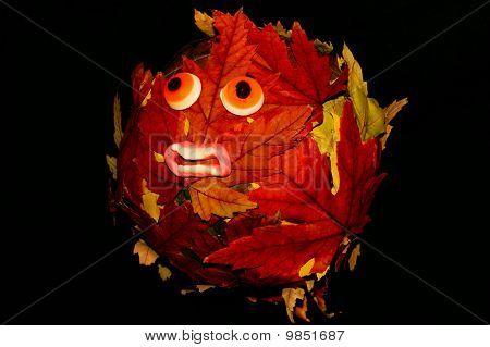 Hallowe'en Leaf creature