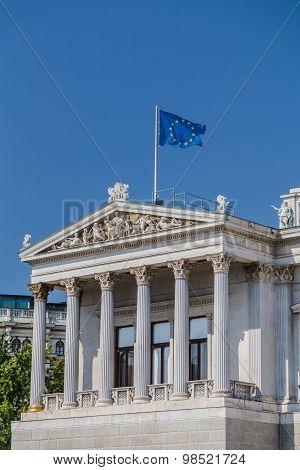 Part Of The Austrian Parliament