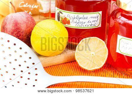 Harvest Time - Homemade Apple Jelly