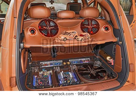 Car Trunk With Power Music Audio System