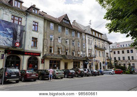 Brick Townhouse In Zakopane At Kosciuszki Str