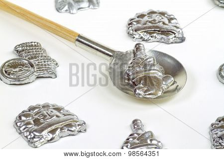 Lead Pouring Set
