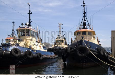 Fleet Of Boats