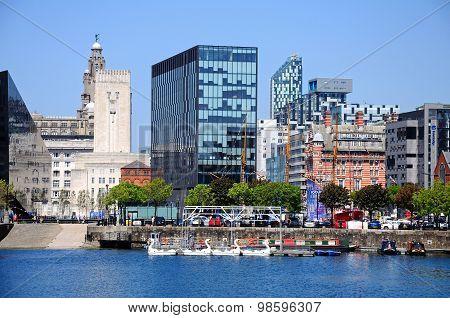 Salthouse Dock, Liverpool.