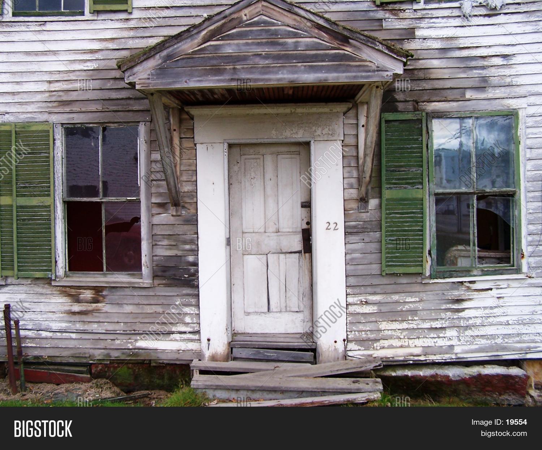 Front Door Of Old House
