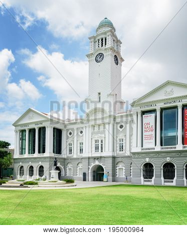 View Of The Victoria Theatre And Concert Hall, Singapore