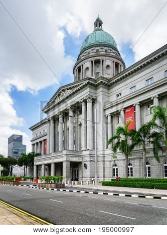 Main View Of The National Gallery Singapore