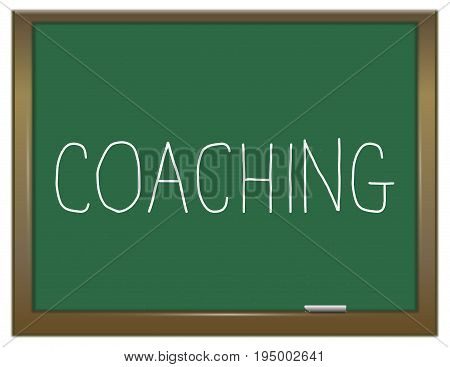 Coaching Word Concept.