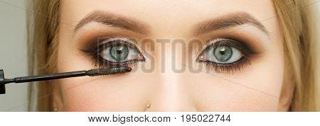 Girl With Eye Makeup