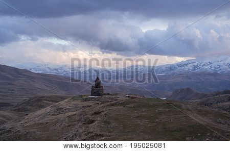 Tanahat Monastery. located 7 km south-east of Vernashen village in the Vayots Dzor Province of Armenia.