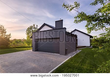 Family House With Garage