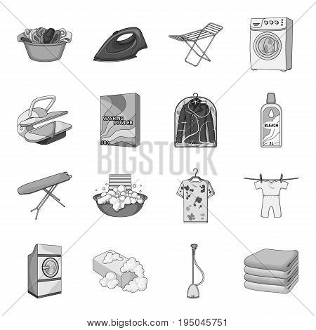 Different types of coffee. Different types of coffee. set collection icons in monochrome style vector symbol stock illustration.