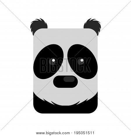 Isolated Abstract Panda