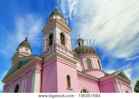 Holy Spirit Orthodox Cathedral in Chernivtsi Ukraine