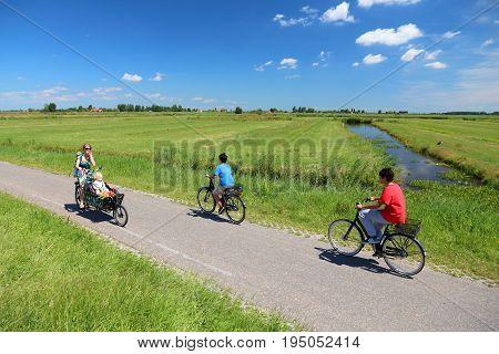 Netherlands Cycleway