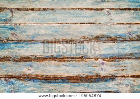 Background Of Green And Blue Painted Wooden Boards, Painted Wood Texture