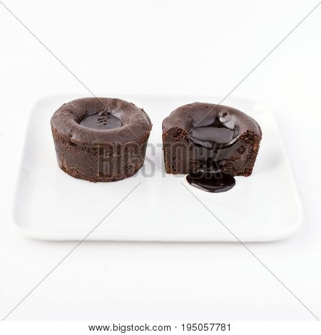 This French dessert is called Coulant au Chocolat