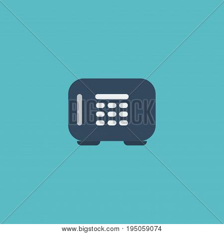 Flat Icon Vault Element. Vector Illustration Of Flat Icon Safe  Isolated On Clean Background. Can Be Used As Safe, Vault And Gloves Symbols.