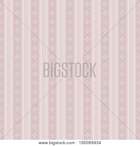 Elegant Seamless Victorian Wallpaper Background Cross Flower Geometry Line