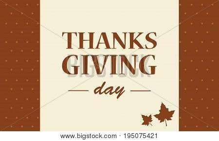 Thanksgiving day background collection stock vector illustration