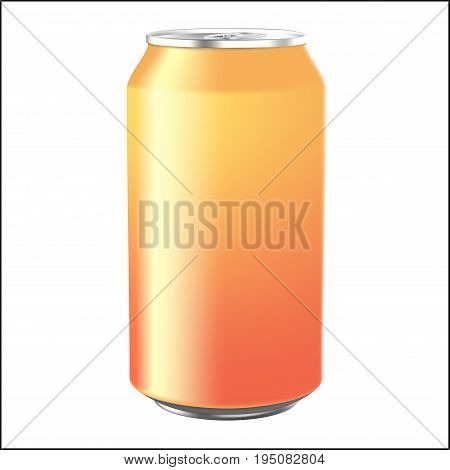 Soda Can Isolated on white background. Vector, ESP10