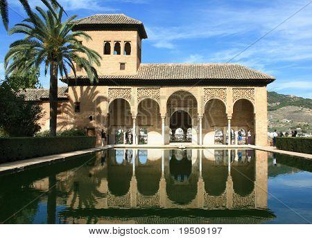 Torre De Las Damas, Alhambra, Granada, Spain