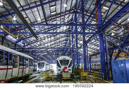 Malaysia Mrt Train