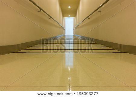 Perspective of corridor walkway Interior, Indoor concept