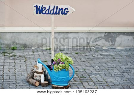 Perfect wedding decorations for special occasion  at restaurant