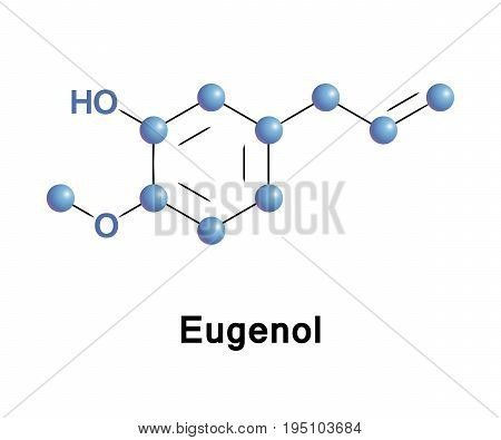 Eugenol is a phenylpropene, an allyl chain-substituted guaiacol. It is a member of the phenylpropanoids class of chemical compounds. It is extracted from certain essential oils