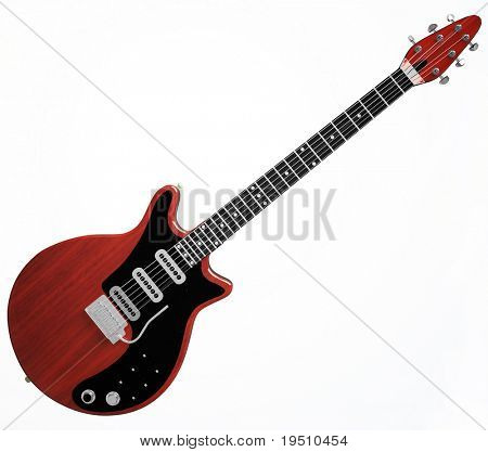 Guitar - 3D illustration