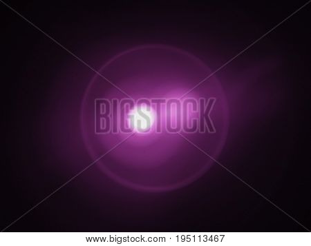 abstract blur useful as background pulses of purple infrared light emitted by remote control LED and seen with digital camera