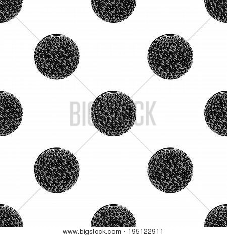 Golf ball.Golf club single icon in black style vector symbol stock illustration .