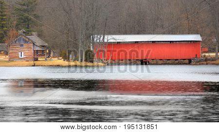 Vigo, Irishman covered bridge in Indiana
