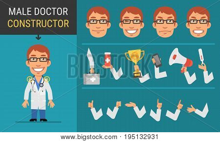 Constructor Character Male Doctor