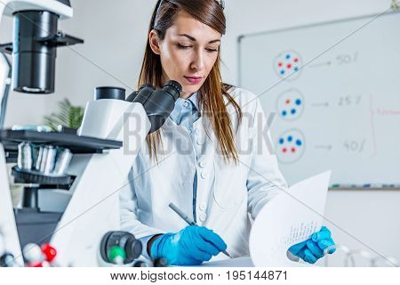 Life Sciences, One Woman Only, Toned Image