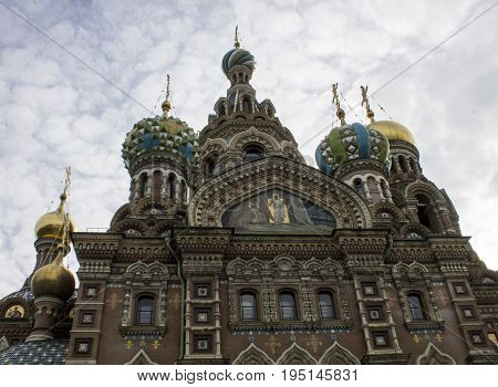 Church of the Savior on Spilled Blood, St.-Petersburg, Russia