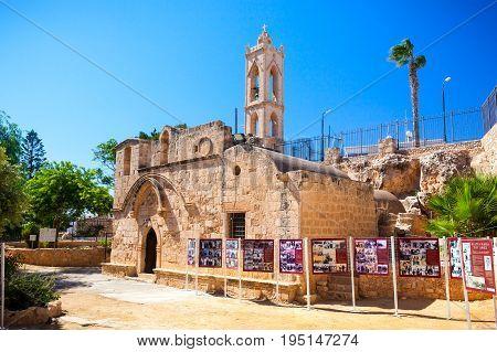 CYPRUS AYIA NAPA - SEPTEMBER 24 2016: Ayia Napa Monastery.