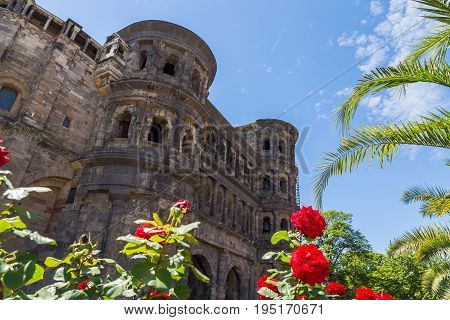 Porta Nigra in Trier Rhineland-Palatinate Germany picture