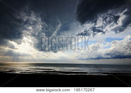 Dramatic Light And Clouds