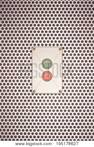 Industrial On off switch Elevator Button