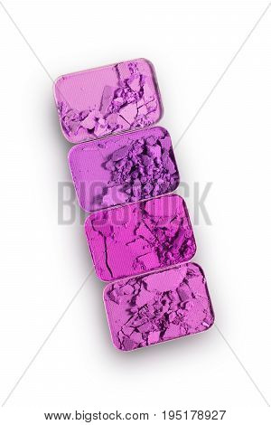 Magenta Crushed Eyeshadow For Make Up As Sample Of Cosmetic Product