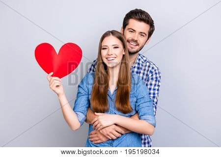 Love Story Of Young Future Parents. They Are So Excited And Cheerful, Expectations Are Making Them H