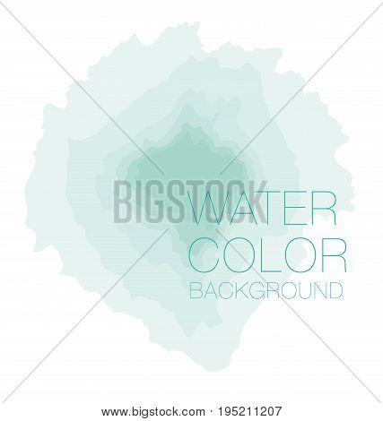 natural pastel green watercolour background, vector backdrop, digital illustration, bluered design element.