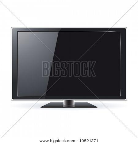 Modern LCD TV set