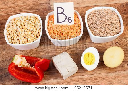 Products And Ingredients Containing Natural Minerals, Vitamin B6 And Dietary Fiber