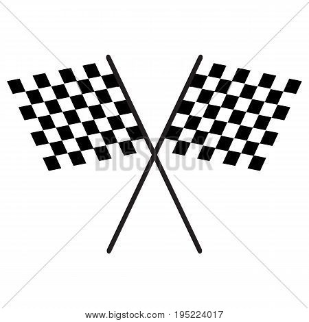 Chequered Flags Finish Flag checkered flag vector finishing sports race