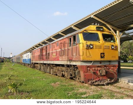 Ge Diesel Locomotive No 4556.