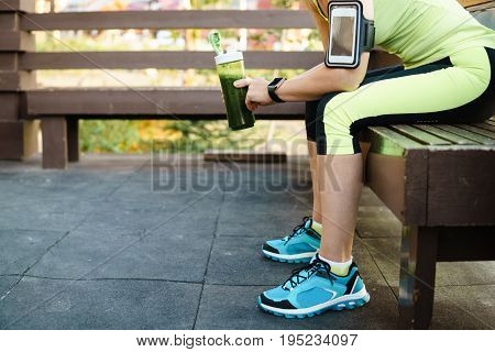 Woman Having A Rest After Hard Workout.
