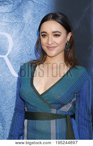 LOS ANGELES - JUL 12:  Keisha Castle-Hughes at the